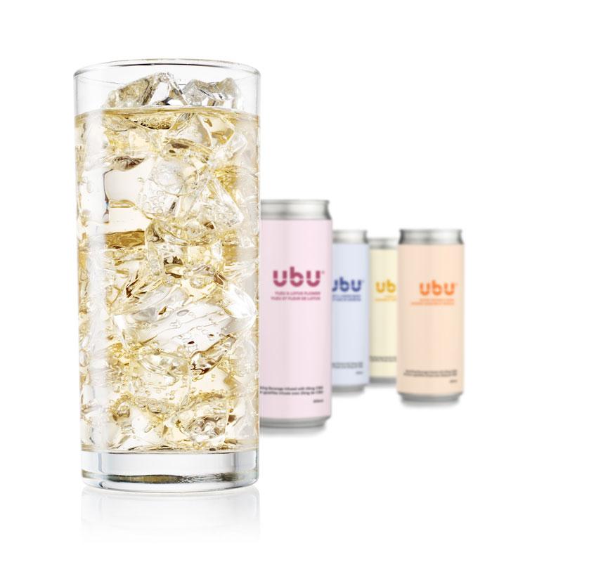 UbU Sparkling CBD Beverages